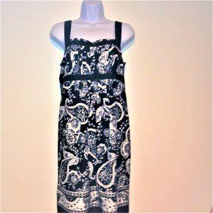 Ann Taylor LOFT Paisley Midi Dress